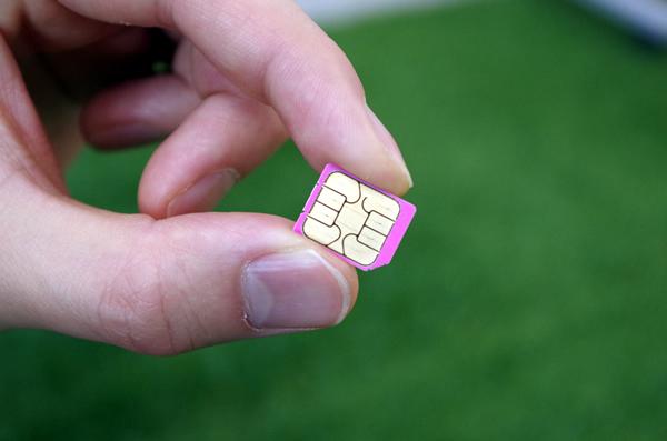 BIC SIMのSIMカード
