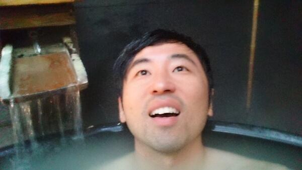 マウントビュー箱根 露天風呂 金魚