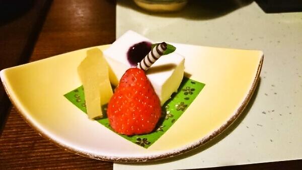 マウントビュー箱根 夕食 デザート