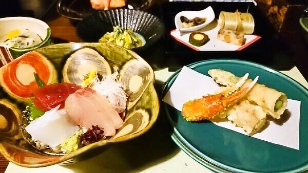 マウントビュー箱根 夕食 お刺身
