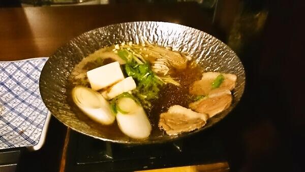 マウントビュー箱根 夕食 鴨鍋