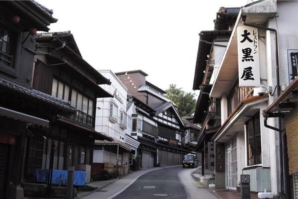 成田山断食の帰り道