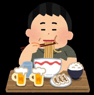 syokuji_tabesugi_man-1