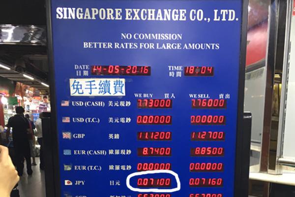 重慶マンションの両替レート