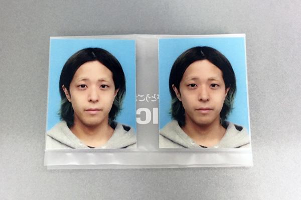 パスポート用の証明写真