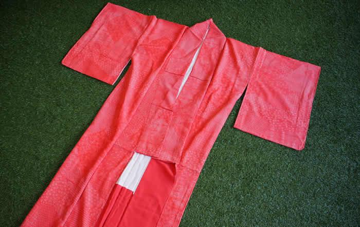 こべに屋さんで買った江戸小紋の着物