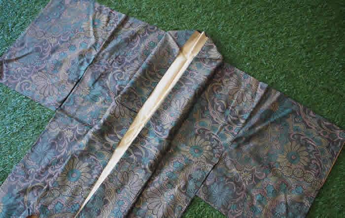 鎌倉今昔きもの大市のwingで購入した大島紬