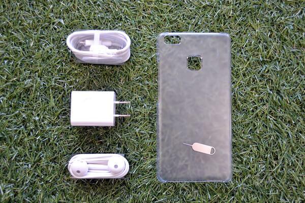 Huawei P9liteの付属品