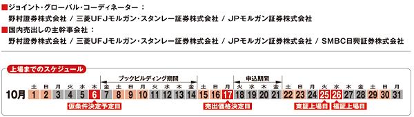 JR九州の主幹事証券会社