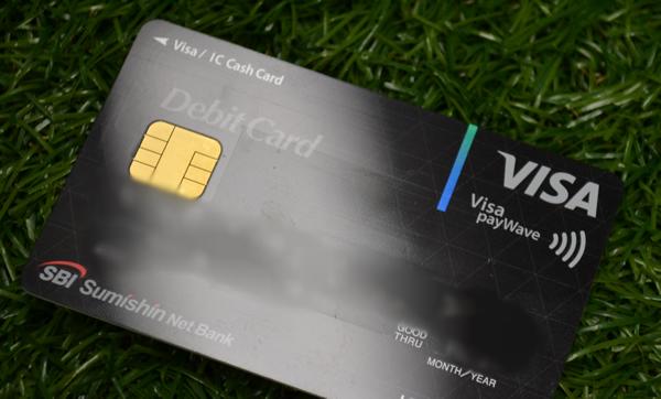 住信SBI銀行のVISAデビットカード