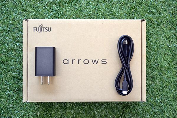 Fujitsu arrows M03の付属品