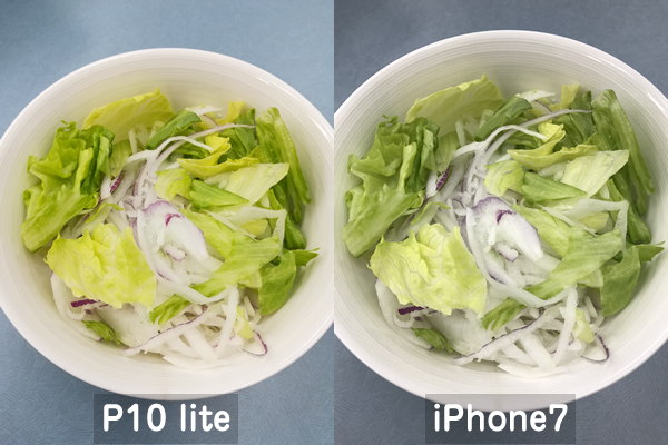P10 liteとiPhone7カメラ比較2