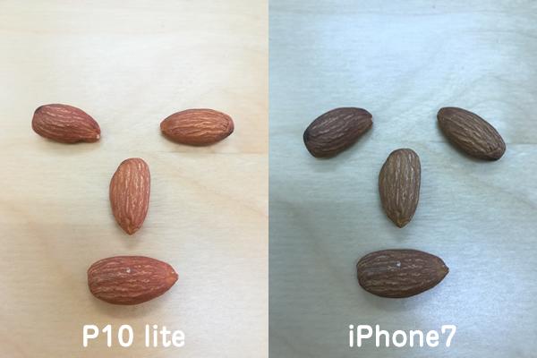 P10 liteとiPhone7カメラ比較3