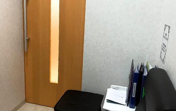 湘南美容クリニックのカウンセリングルーム(個室)