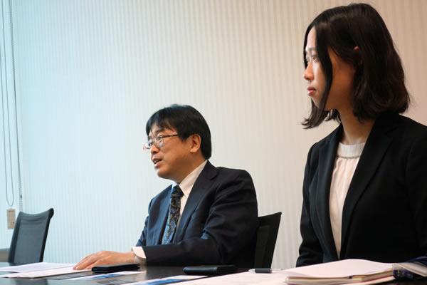 SBI証券の橋本さんと小澤さん