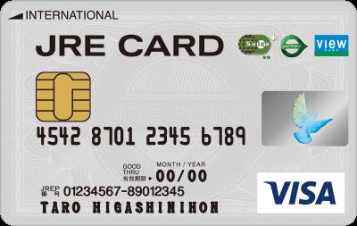 JRE CARDのデザイン