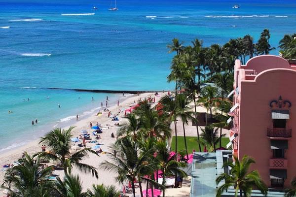中島なかじの新婚旅行はハワイ。ソニーバンクウォレット大活躍