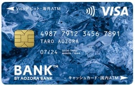 BANK™ The Debitの券面