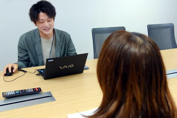電気通信事業法の改正の影響について話すBIGLOBEの小寺さん