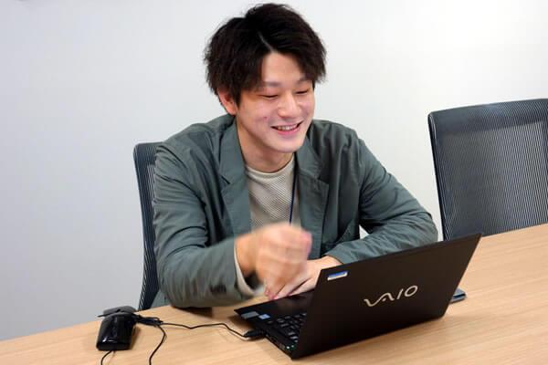 BIGLOBEモバイルのペーシング技術について話す小寺さん