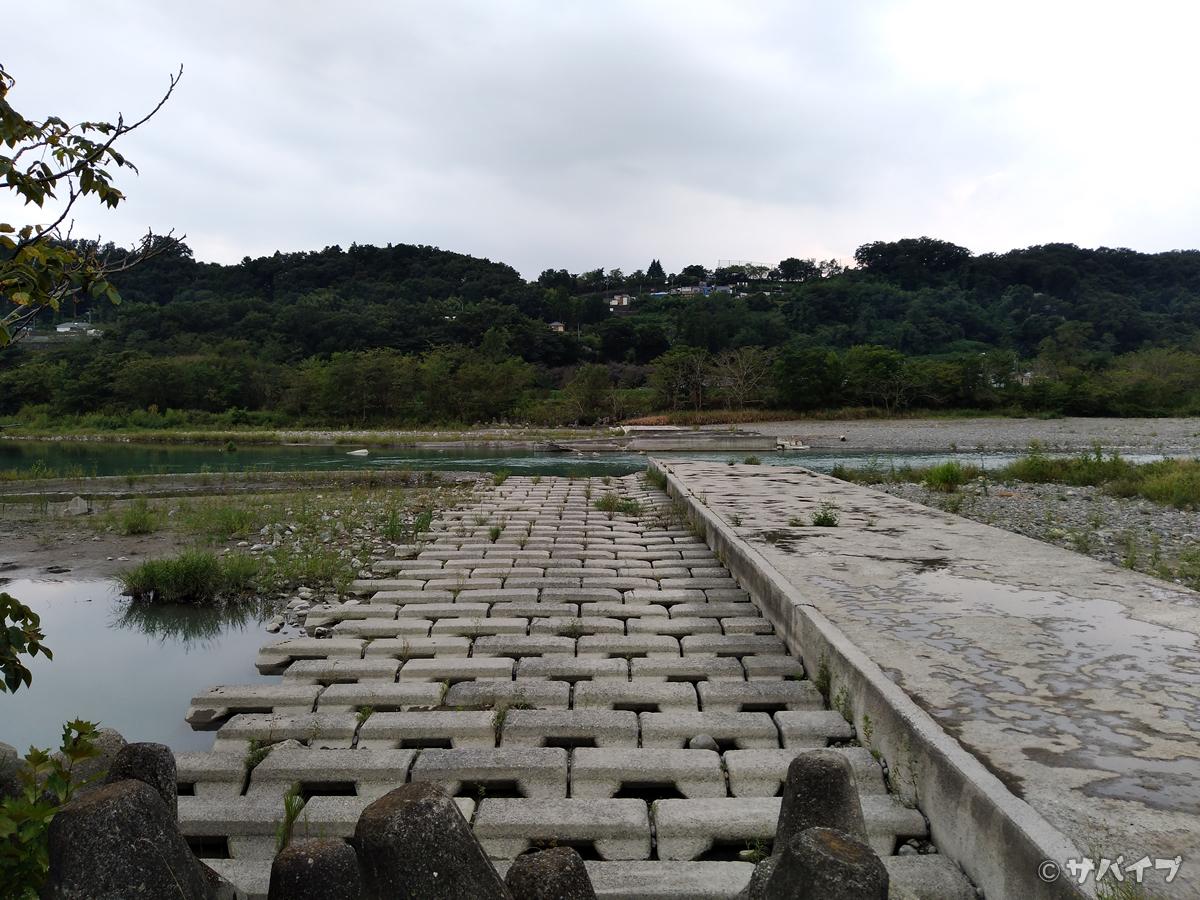 Rakuten Miniで川辺を撮影