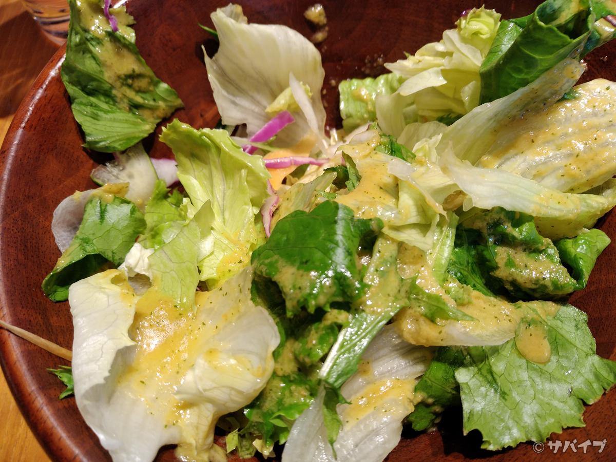 Rakuten Miniでサラダを撮影