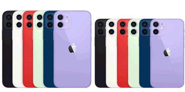 iphone12、12 miniのデザイン